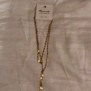 Madewell gold layering necklace